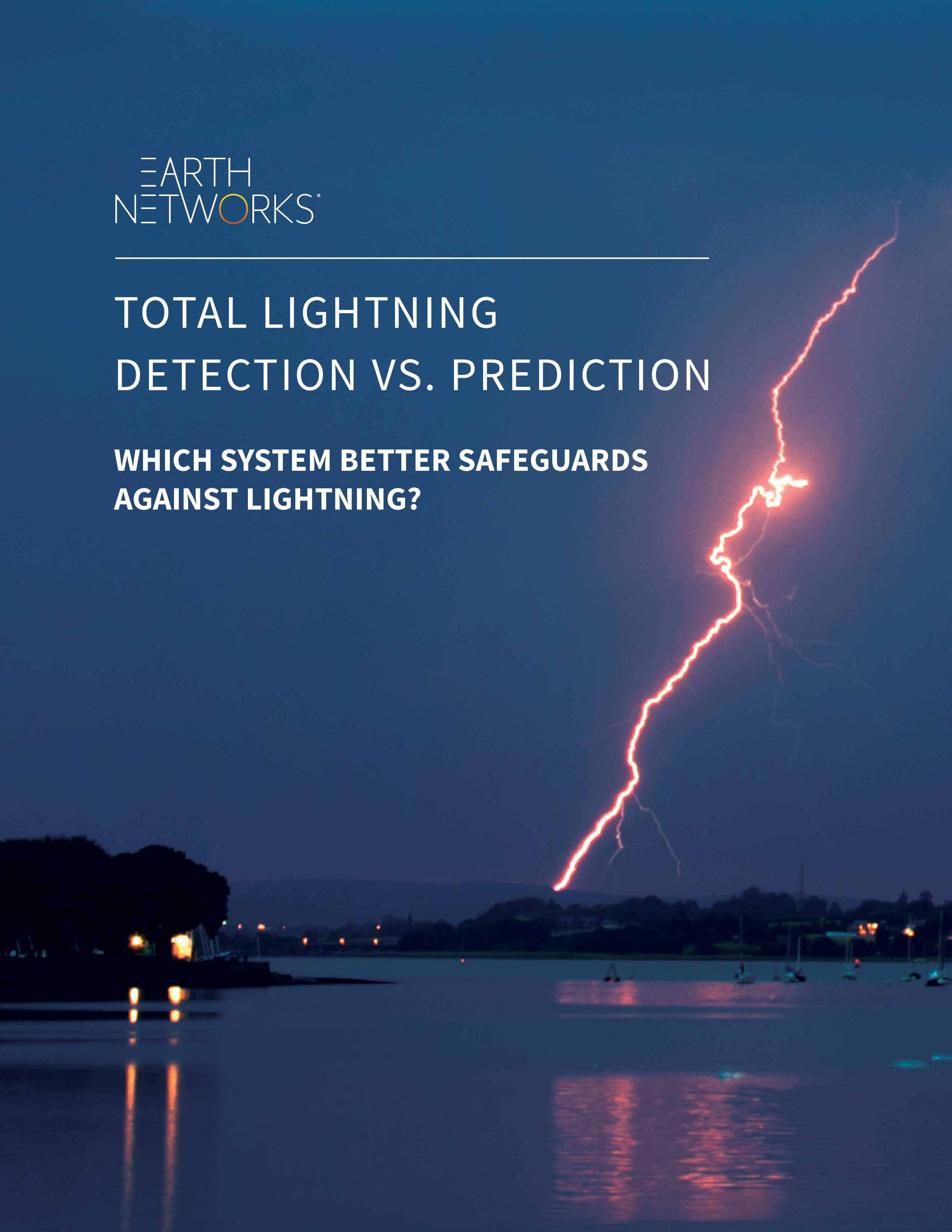 Read the lightning detection vs prediction case study