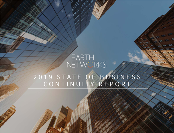 Earth Networks - 2019 State of Business Continuity Report SCN
