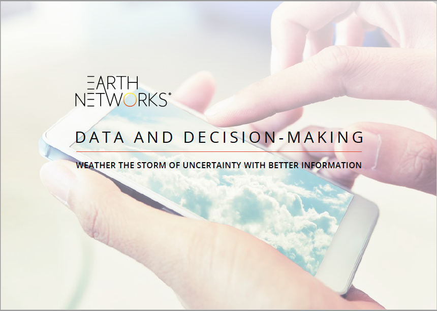 IS YOUR WEATHER DATA ACTIONABLE?