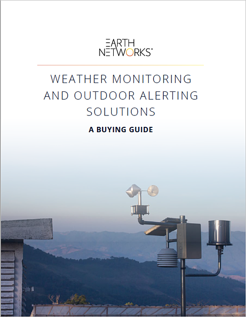 WEATHER MONITORING AND OUTDOOR ALERTING SOLUTIONS