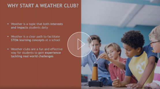 STEM On-Demand Webinar - Top 5 Weather Club Activities