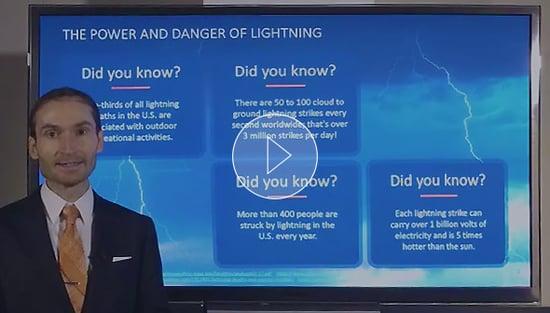 Earth Networks - Lightning Awareness Week