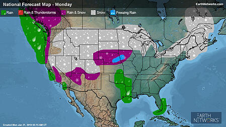 Monday's Outlook
