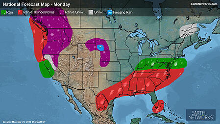 Monday Outlook