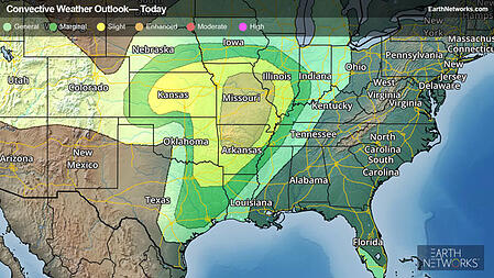 Today's Severe Outlook